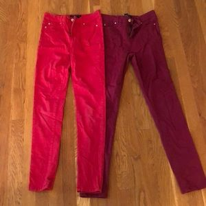 Stretch Celebrity Pink girls colored jeans 14